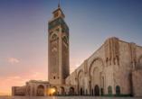 Busrundreise Marokko, Casablanca, Hassan Moschee