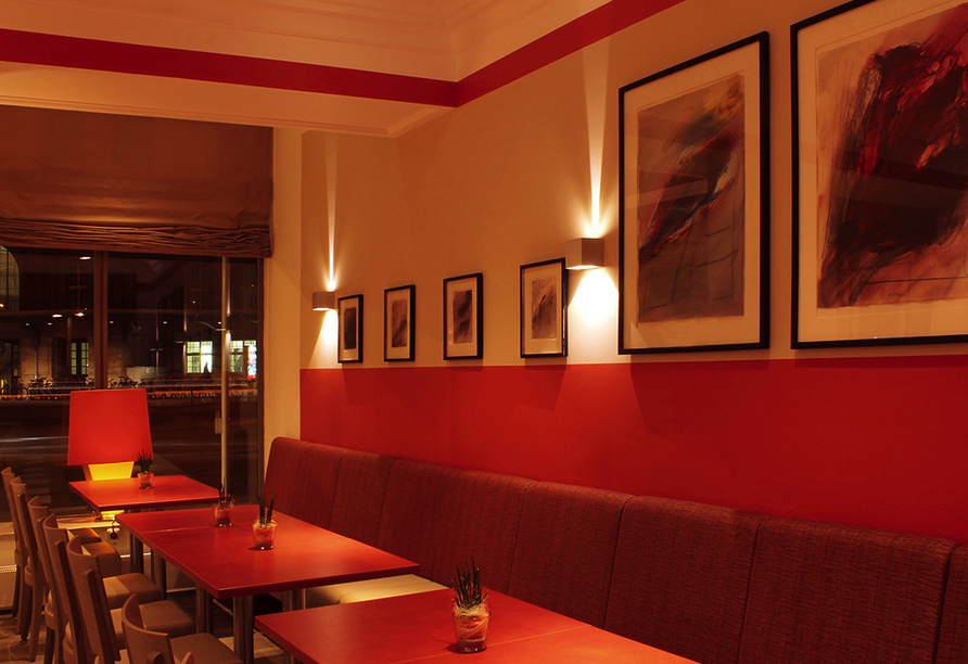 Hotelbar vom Best Western Hotel Leipzig City Center.