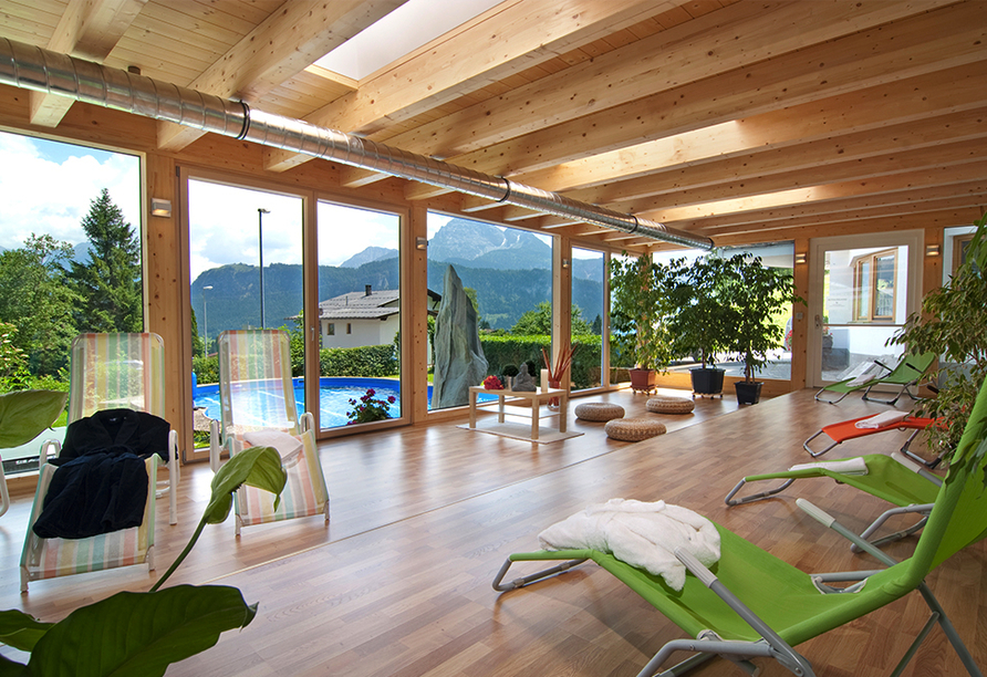 Best Western Panoramahotel Talhof in Wängle bei Reutte in Tirol, Ruheraum