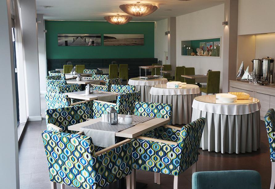 Aparthotel Nad Parseta in Kolberg an der polnischen Ostsee Restaurant