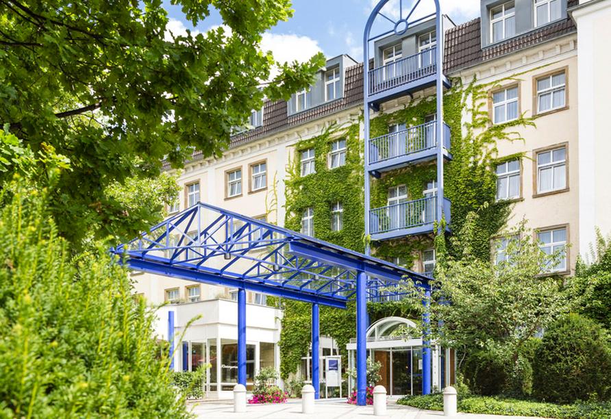 Victor's Residenz-Hotel Gera, Außenansicht