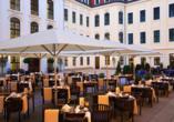 Hotel Taschenbergpalais Kempinski, Terrasse