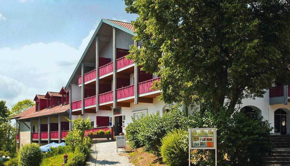 Appartementhaus Rottalblick in Bad Griesbach-Therme, Außenansicht