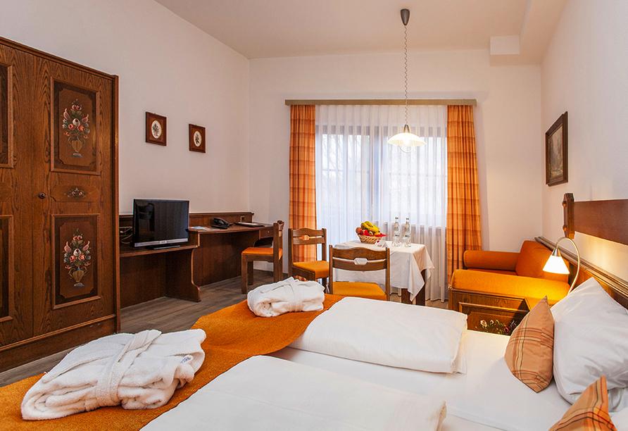 Appartementhaus Rottalblick in Bad Griesbach, Beispielappartement