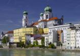 Besuchen Sie das Ausflugsziel Passau