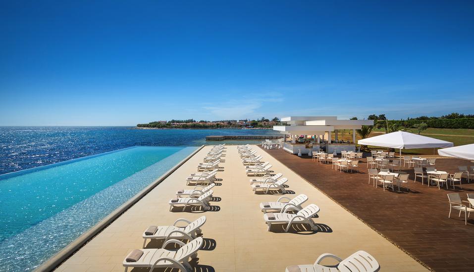 Hotel Aminess Laguna Novigrad Kroatien, Fun Beach Zone Pool