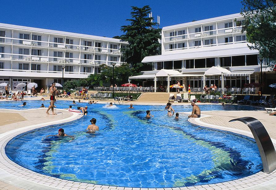 Hotel Aminess Laguna Novigrad Kroatien, Pool