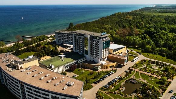 Hotel Arka Medical SPA, Außsenansicht