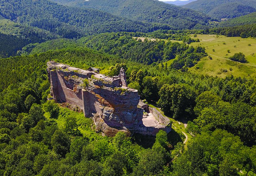 Rundreise Frankreich, Burg Fleckenstein