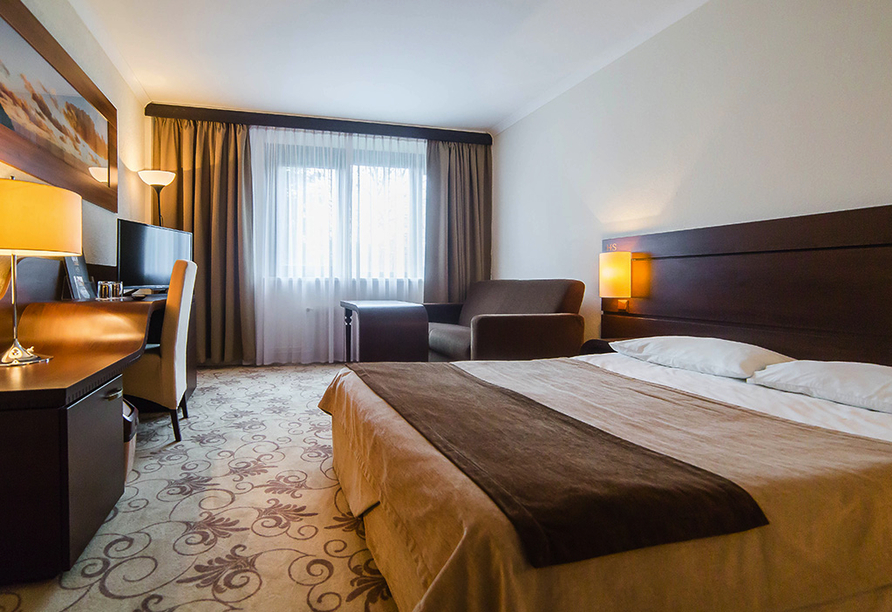 Solny Resort & Spa in Kolberg, Zimmerbeispiel