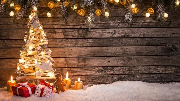 Ferienpark Hambachtal in Oberhambach, Weihnachten