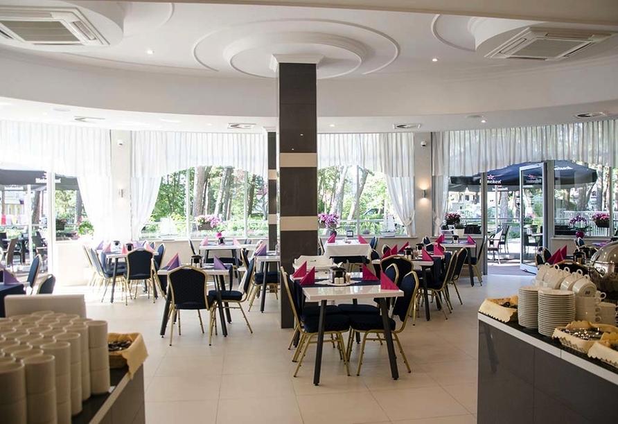 Hotel Grand Kapitan Medi Spa in Henkenhagen, Restaurant