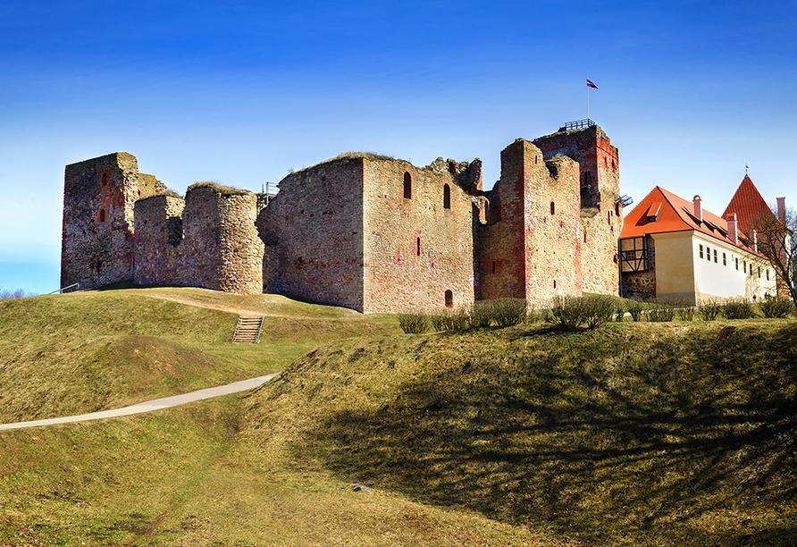Erlebnisreise-Litauen-Lettland-Estland, Schloss Bauska