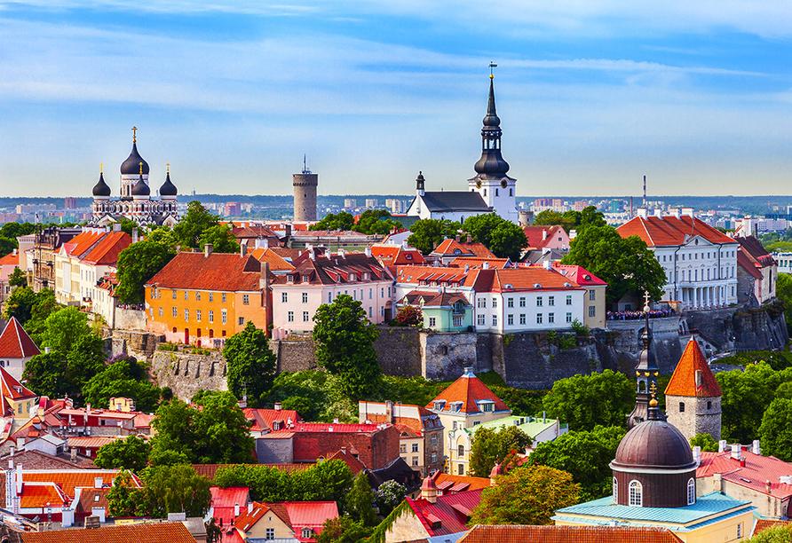 Erlebnisreise-Litauen-Lettland-Estland, Hauptstadt von Estland, Tallinn