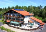 Waldhotel Hubertus in Eisenfeld, Außenansicht