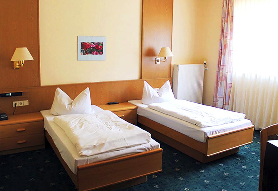 Waldhotel Hubertus in Eisenfeld, Zimmerbeispiel