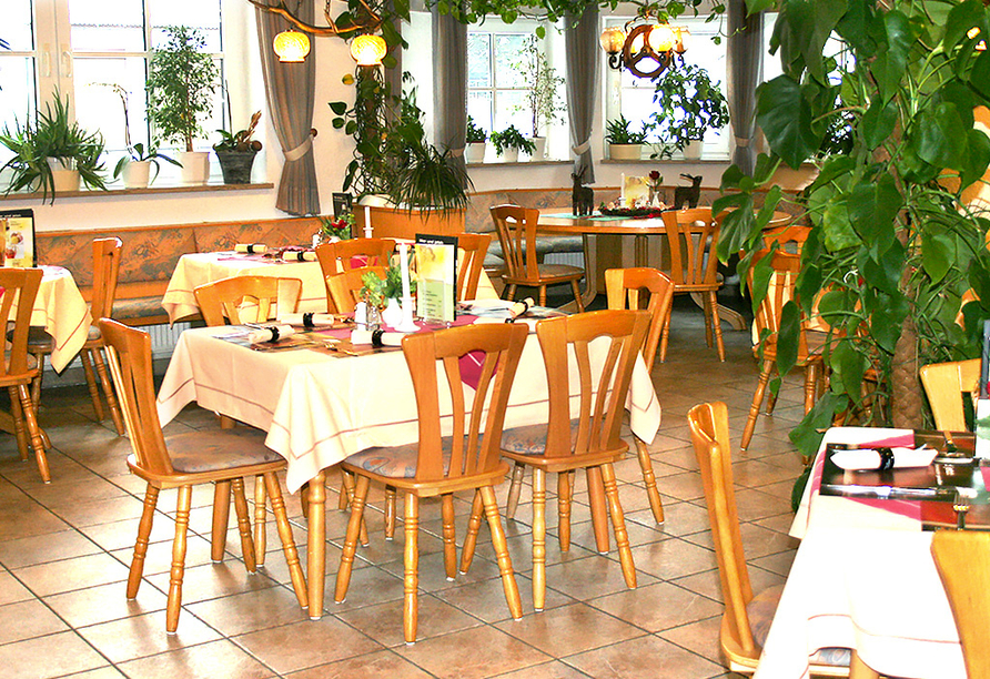 Waldhotel Hubertus in Eisenfeld, Restaurant