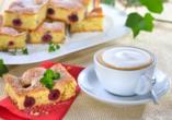 Waldhotel Hubertus in Eisenfeld, Kaffee und Kuchen