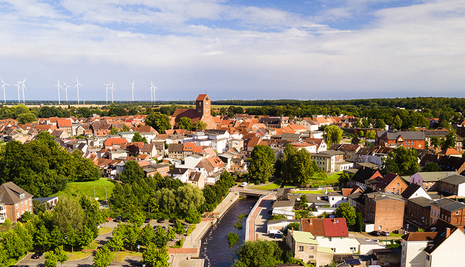 Van der Valk Landhotel in Sportnitz, Panorama von Parchim