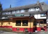 Hotel Rauchfang in Titisee im Schwarzwald, Außenansicht