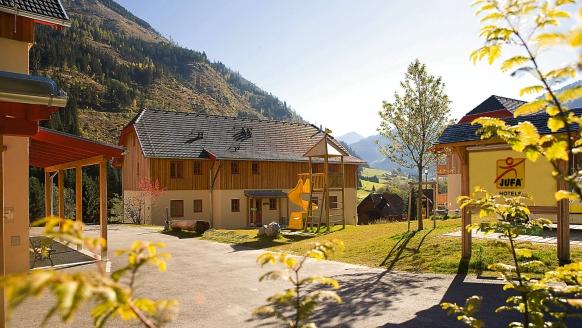 JUFA Hotel Donnersbachwald Steiermark, Außenansicht