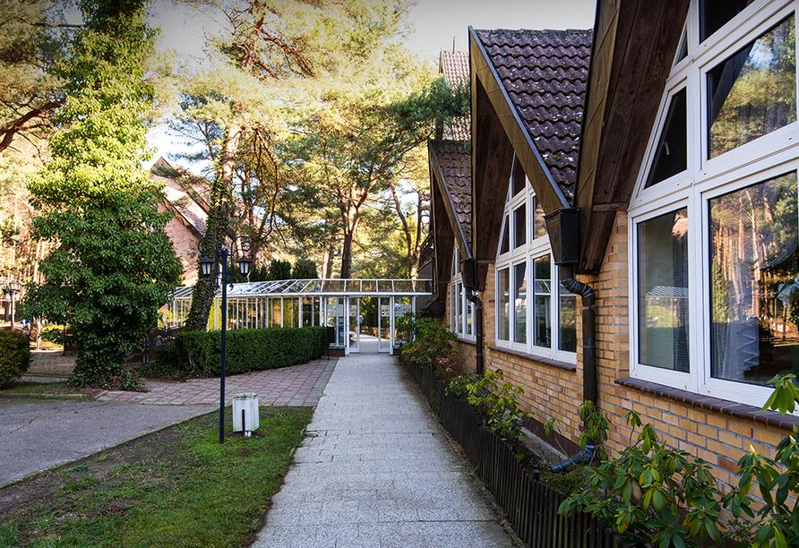 Hotel Venus Spa in Mrzezyno, Polnische Ostsee, Außenansicht