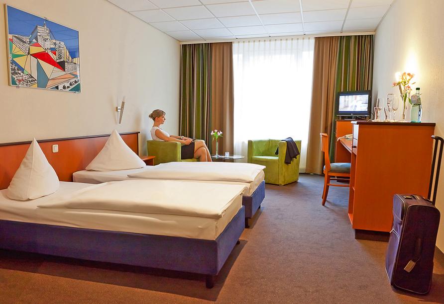 Center Hotel Alte Spinnerei Burgstädt, Zimmer