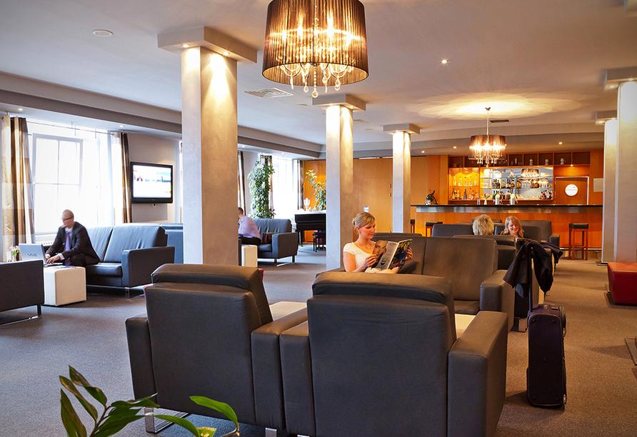 Center Hotel Alte Spinnerei, Lobby