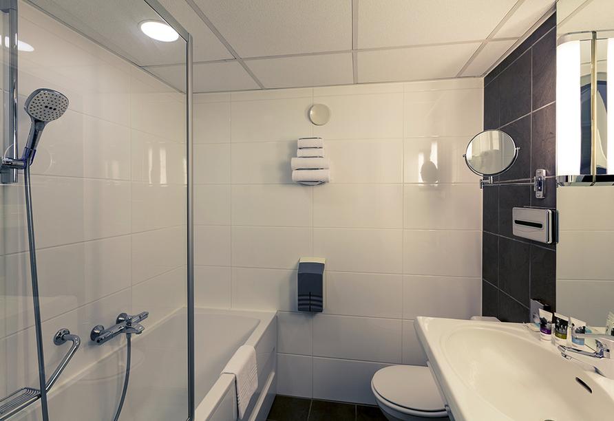 Mercure Hotel Zwolle in den Niederlanden, Badezimmerbeispiel