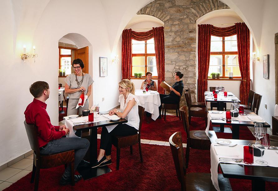 Hotel Resort Schloss Auerstedt in Bad Sulza, Restaurant