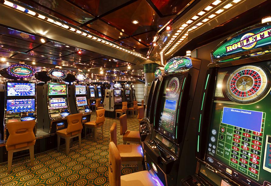 Costa Favolosa, Casino