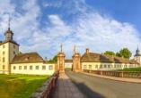 Hotel Höxter am Jakobsweg im Weserbergland, Karolingisches Westwerk von Schloss Corvey
