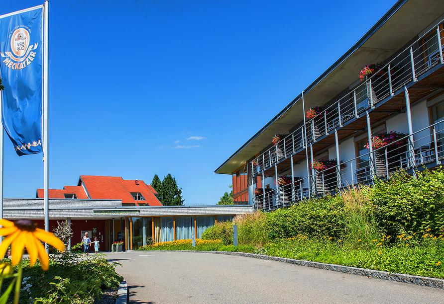 Landhotel Allgäuer Hof in Wolfegg Alttann Allgäu, Außenansicht