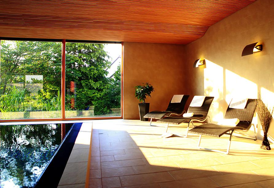 Landhotel Allgäuer Hof in Wolfegg Alttann Allgäu, Hallenbad