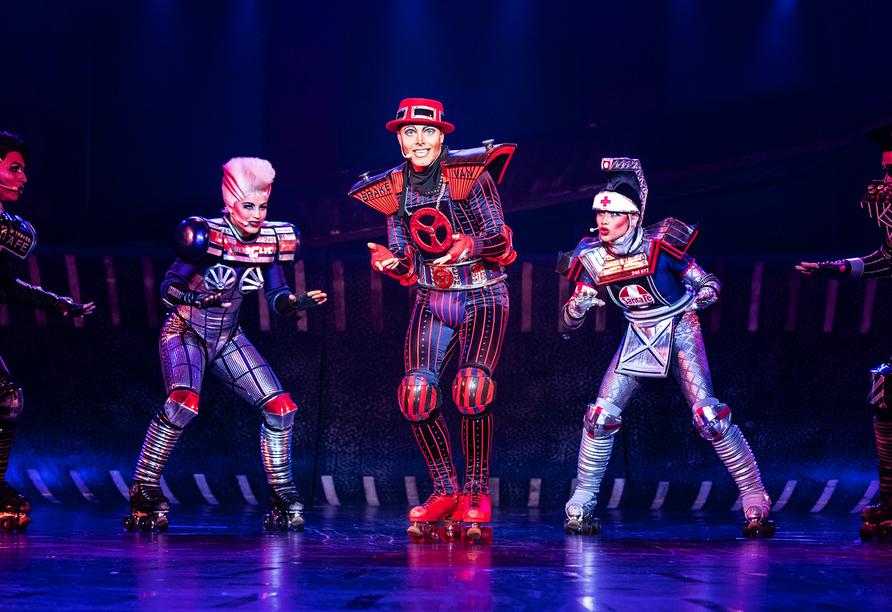 Show von Starlight Express - das Musical