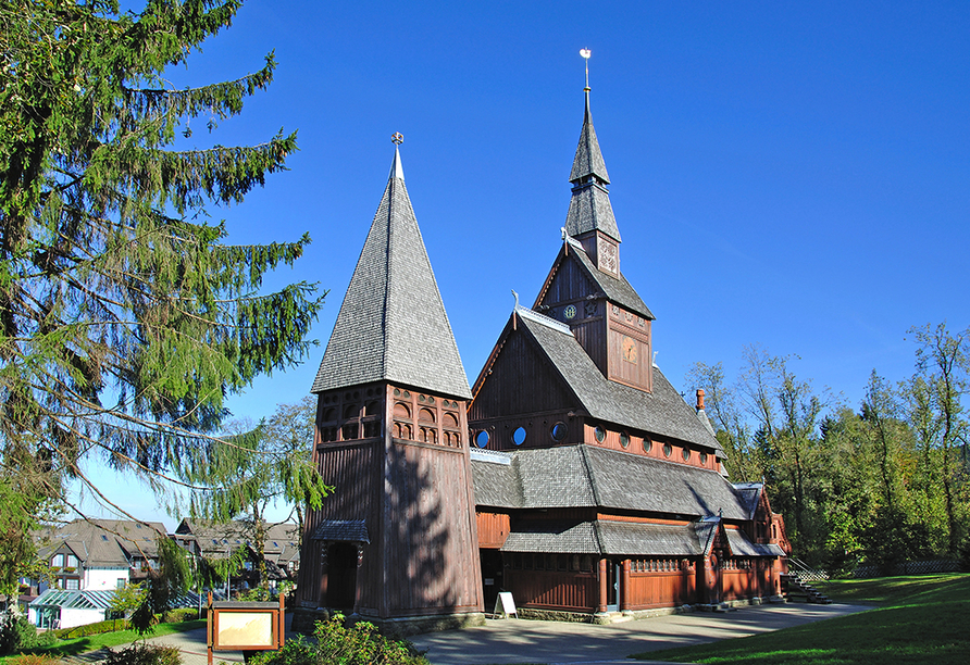 Klosterhotel Wöltingerode in Vienenburg, Stabkirche Hahnenklee