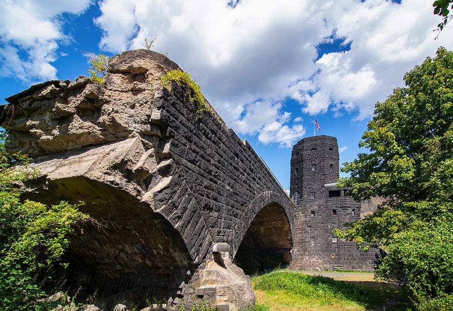 MS VistaSun, Ludendorff-Brücke