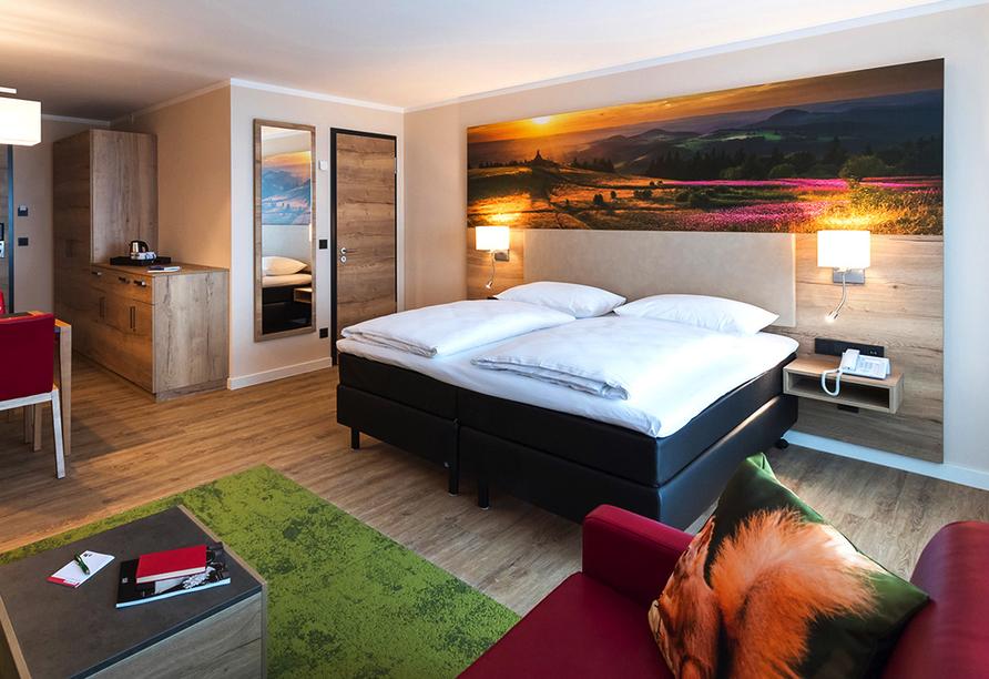 Rhön Park Aktiv Resort in Hausen-Roth in der Rhön, Beispiel Studio Deluxe