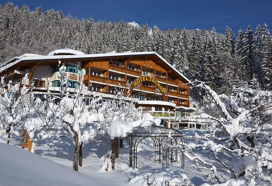 Best Western Panoramahotel Talhof in Wängle bei Reutte in Tirol, Außenansicht