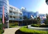 Hotel Sandra Spa in Pogorzelica, Außenansicht