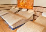Hotel Sandra Spa Pogorzelica, Liegen im Wellnessbereich