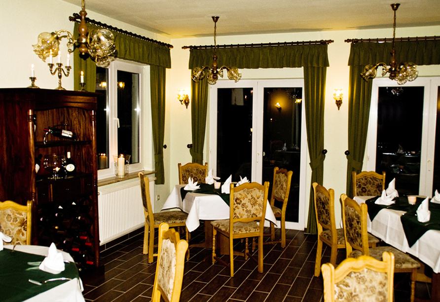 Hotel Haus Waldesruh in Fünfseen/Petersdorf Restaurant