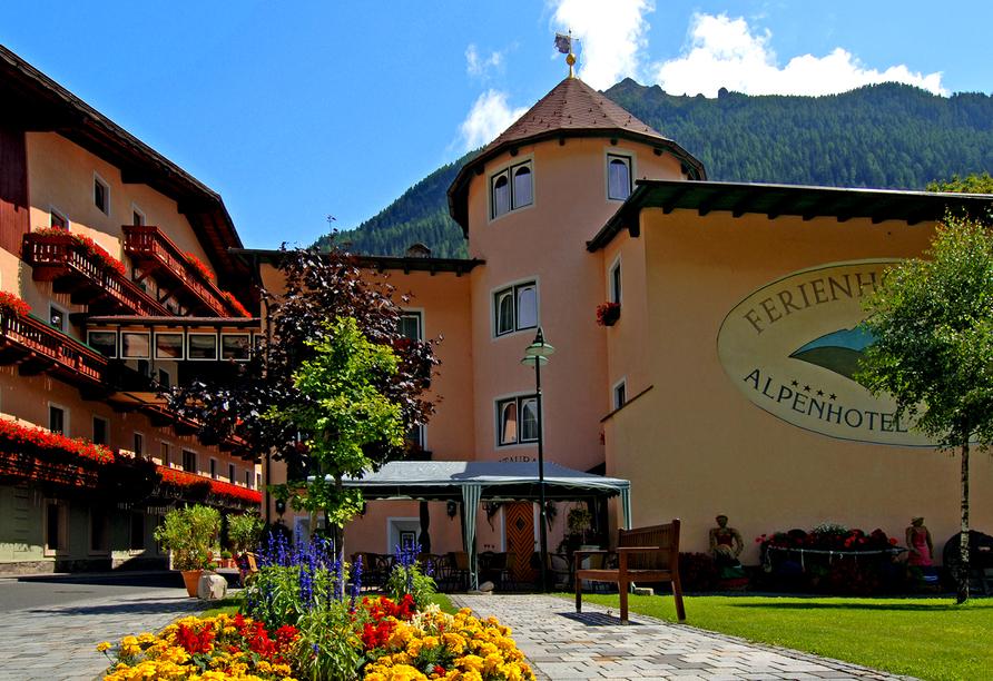 Ferienhotel Alber in Mallnitz in Kärnten Außenansicht