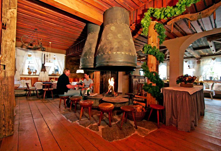 Ferienhotel Alber in Mallnitz in Kärnten Almstube