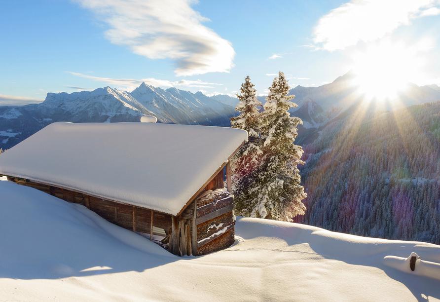 Ferienhotel Alber in Mallnitz in Kärnten, Winter