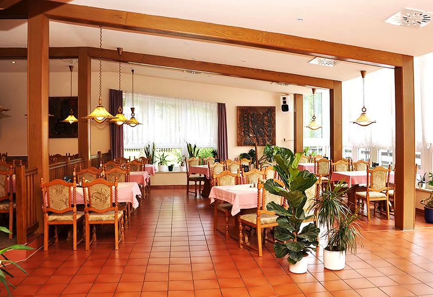 Waldhotel Feldbachtal in Lichte im Thüringer Wald Restaurant