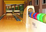Waldhotel Feldbachtal in Lichte im Thüringer Wald Bowlingbahn