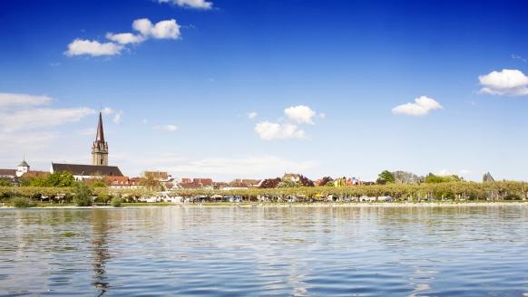 Hotel Am Stadtgarten in Radolfzell am Bodensee, Herzlich willkommen am Bodensee