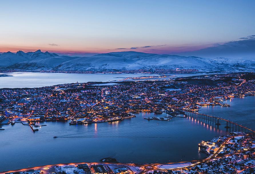Hurtigruten, Tromsö