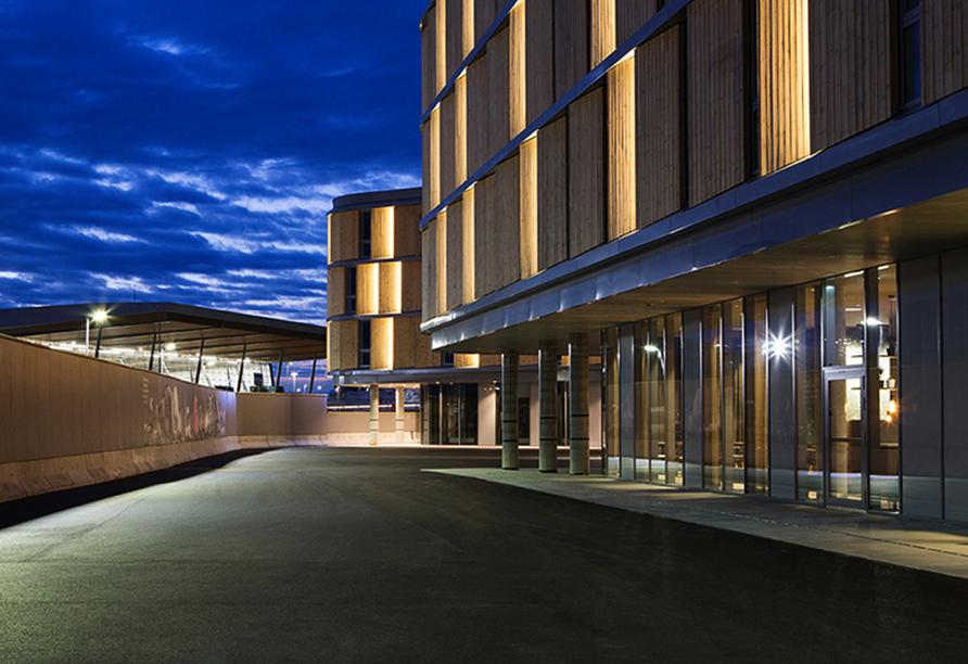 Hurtigruten, Comfort Hotel Bergen Airport Außenansicht